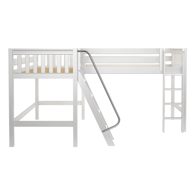 Twin Medium Corner Loft Bed