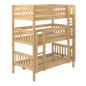 Twin XL Triple Bunk Bed