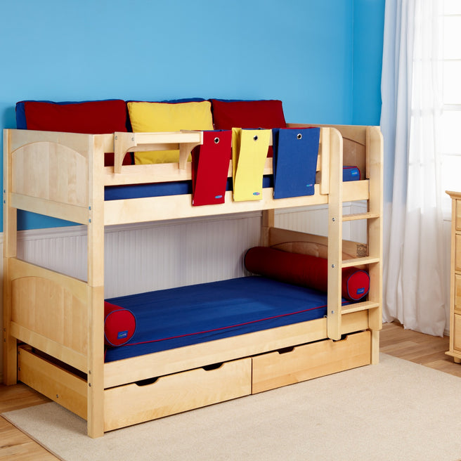 Twin Low Bunk Bed - Curve