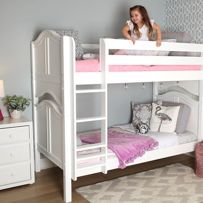 Twin Medium Bunk Bed - Curve