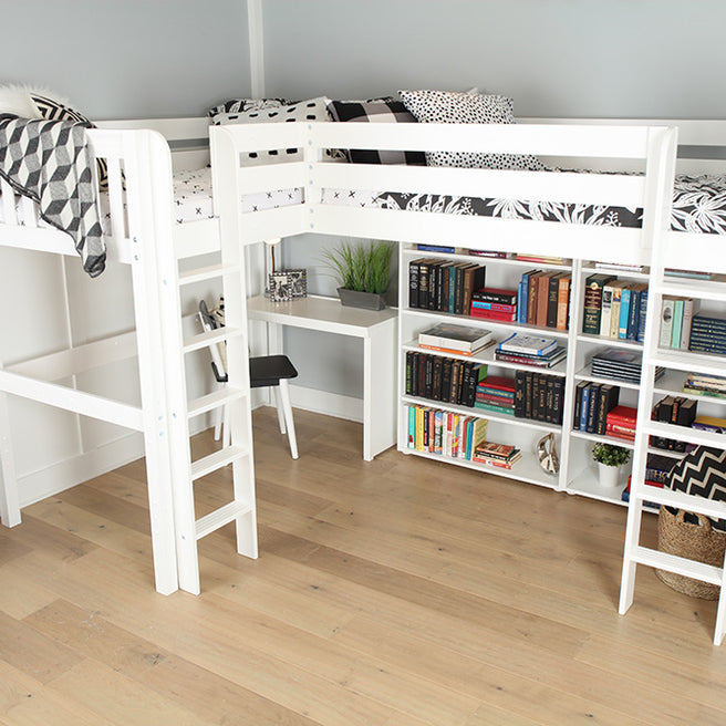 Twin High Corner Loft Bed