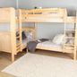 Twin High Corner Bunk Bed
