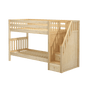 Twin XL Medium Bunk Bed with Stairs