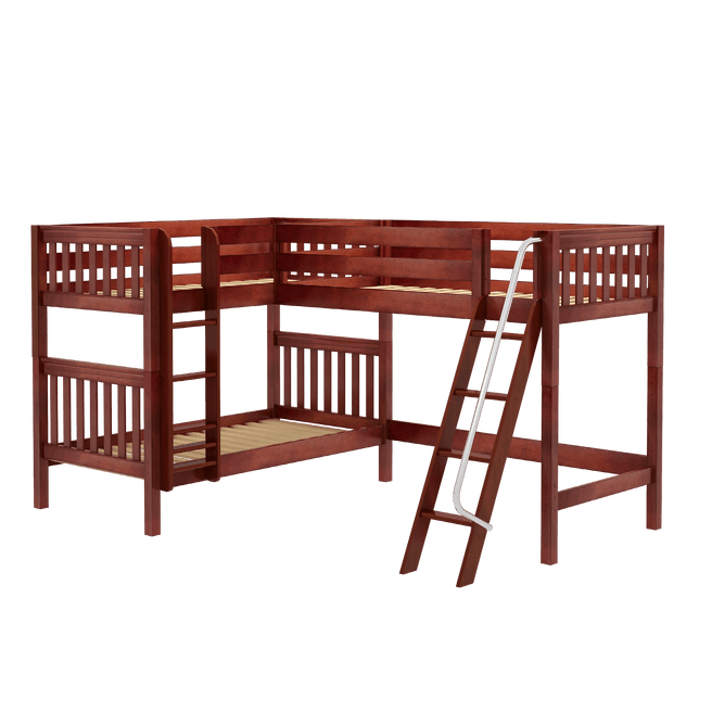 Twin Medium Corner Loft Bunk Bed