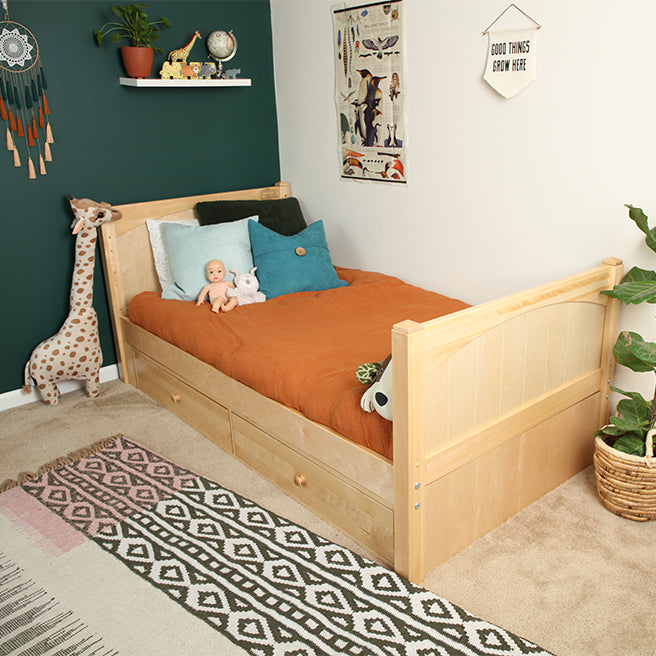 Twin XL Basic Bed - Low