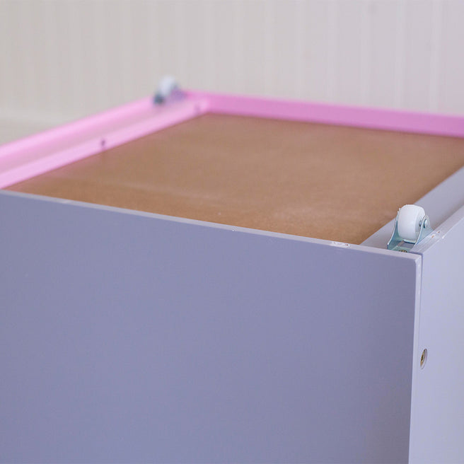 Toy Box with Castor Wheels
