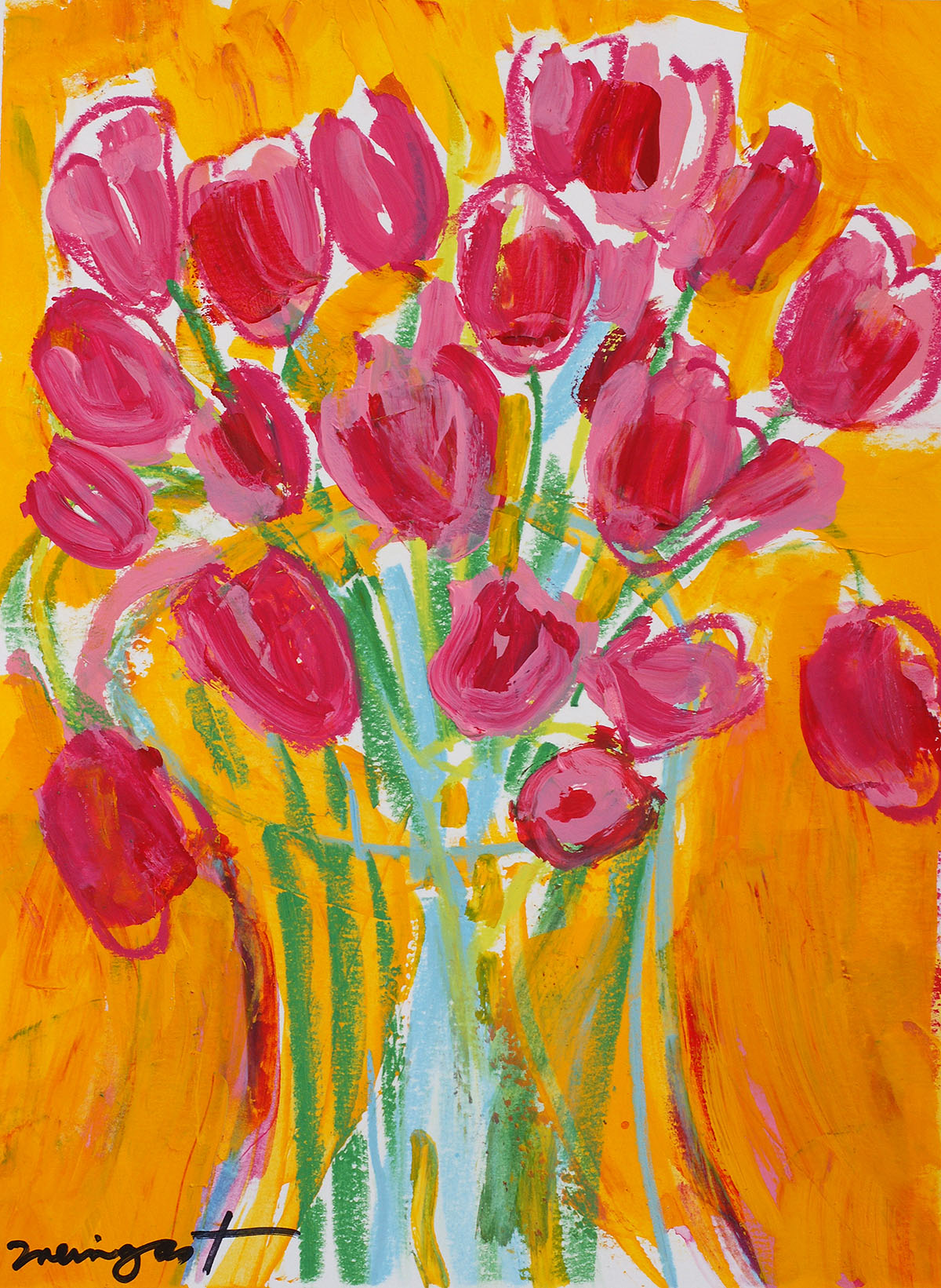 Whimsy Tulip One