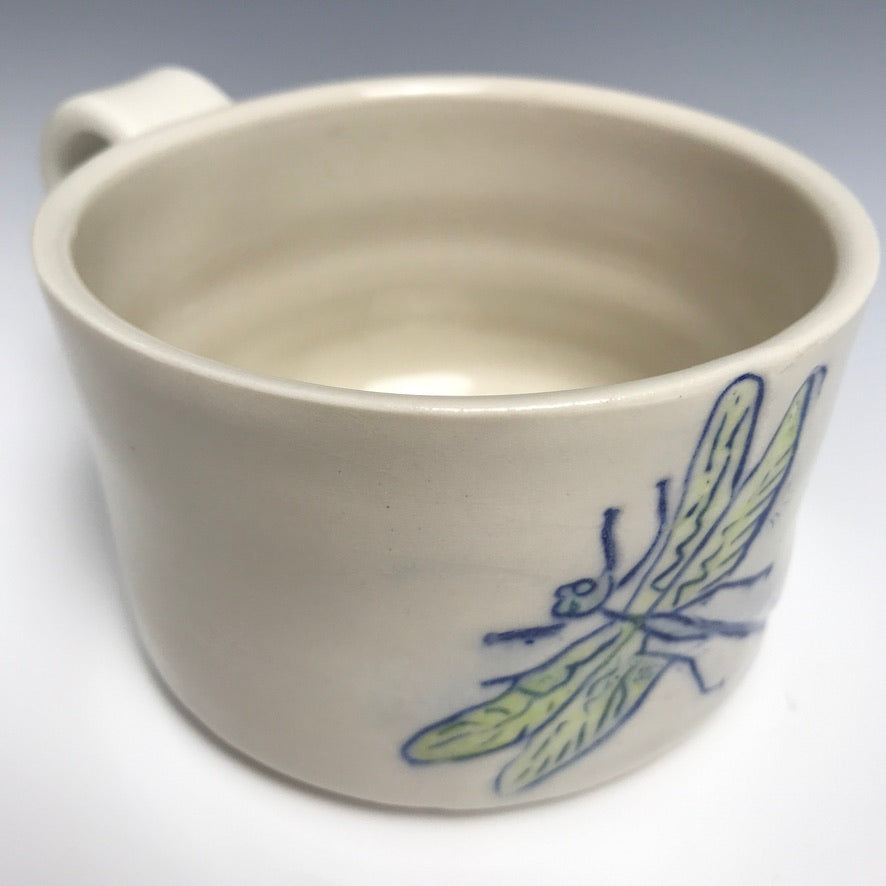 Single Large Dragonfly Mug