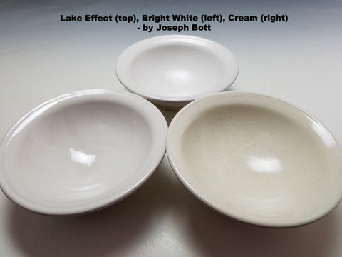 Clayscapes Pottery Signature Line Glaze - Bright White