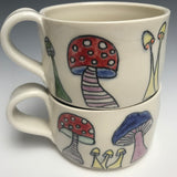 Funky  Mushrooms Mug
