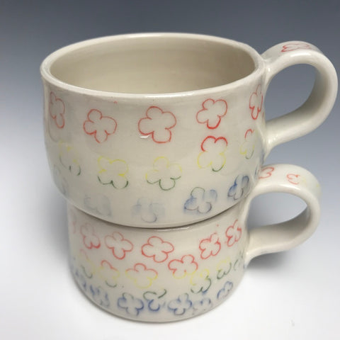 Rainbow  Forget-Me-Not Mug