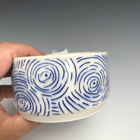 Big  Blue  Splash Design Mug