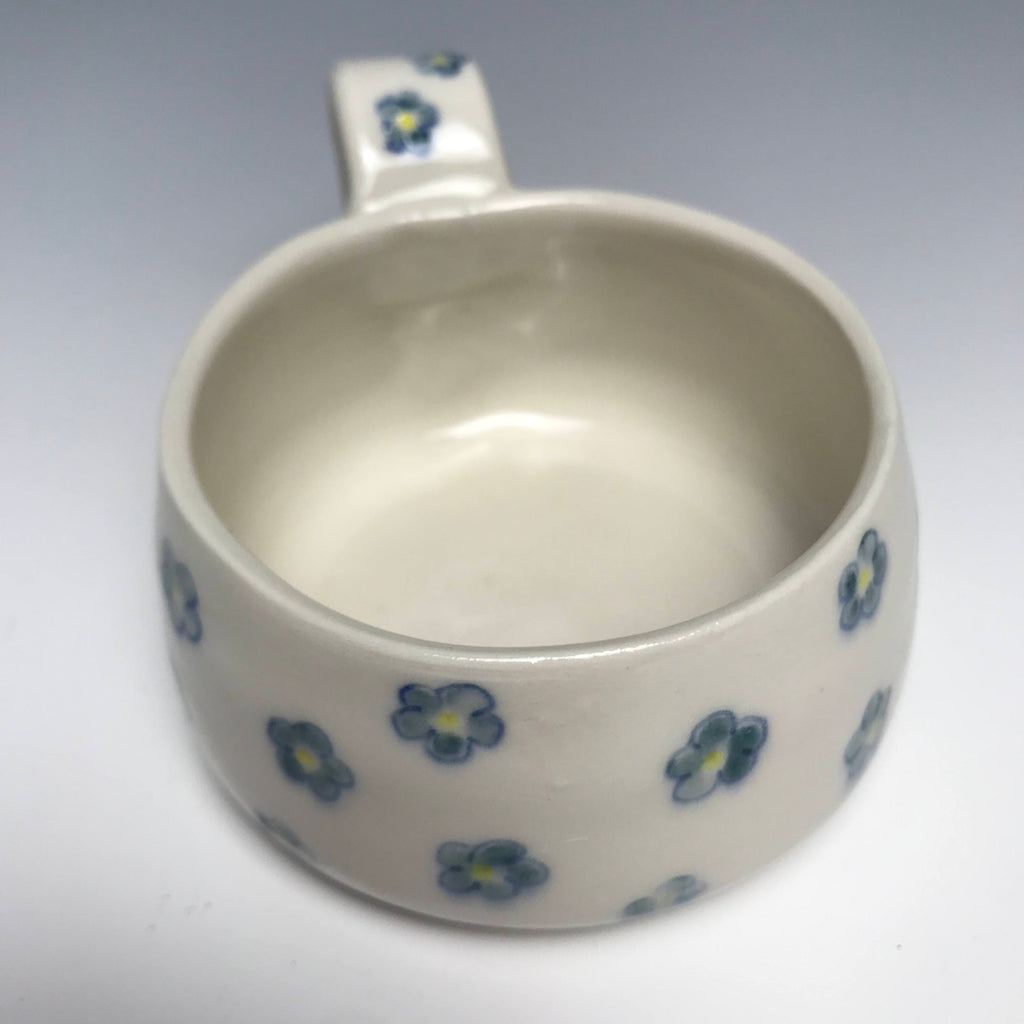 Blue  Forget-Me-Not  Flowers Mug