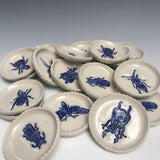 Sets of Four (4) Porcelain or Six (6) Stoneware or Eight (8) Terra Cotta Random Tiny Bug Bowls