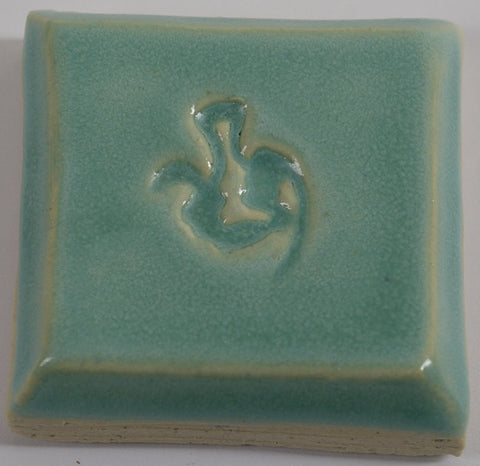 Clayscapes  Pottery Signature Line Glaze - Turquoise Rain