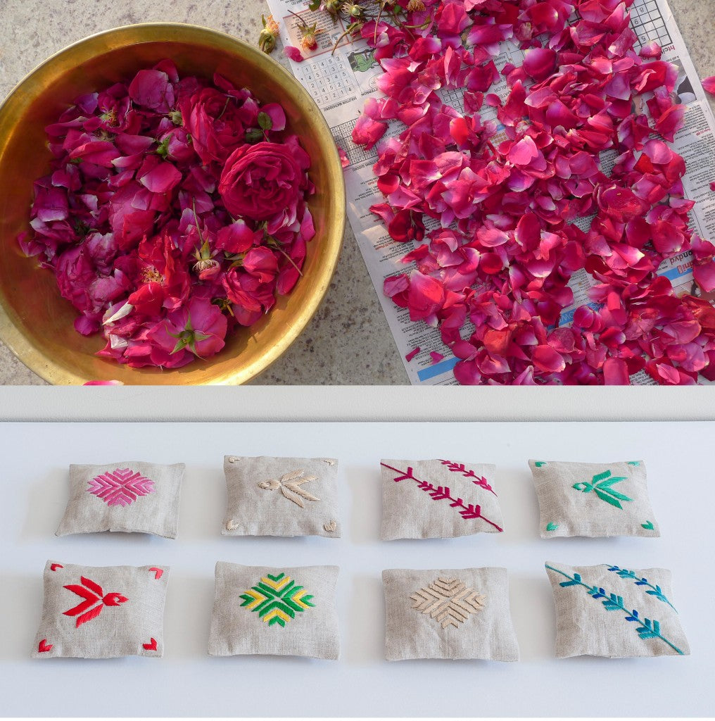 Indian roses_sachets