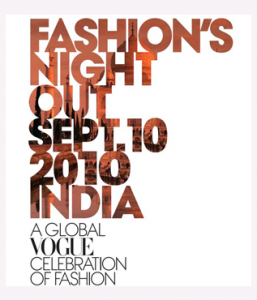 Vogue's Fashion Night Out India