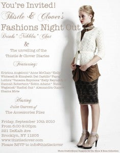 Thistle & Clover Fashion Night Out