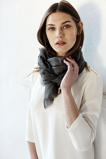 SKY Scarf - Graphite Heather
