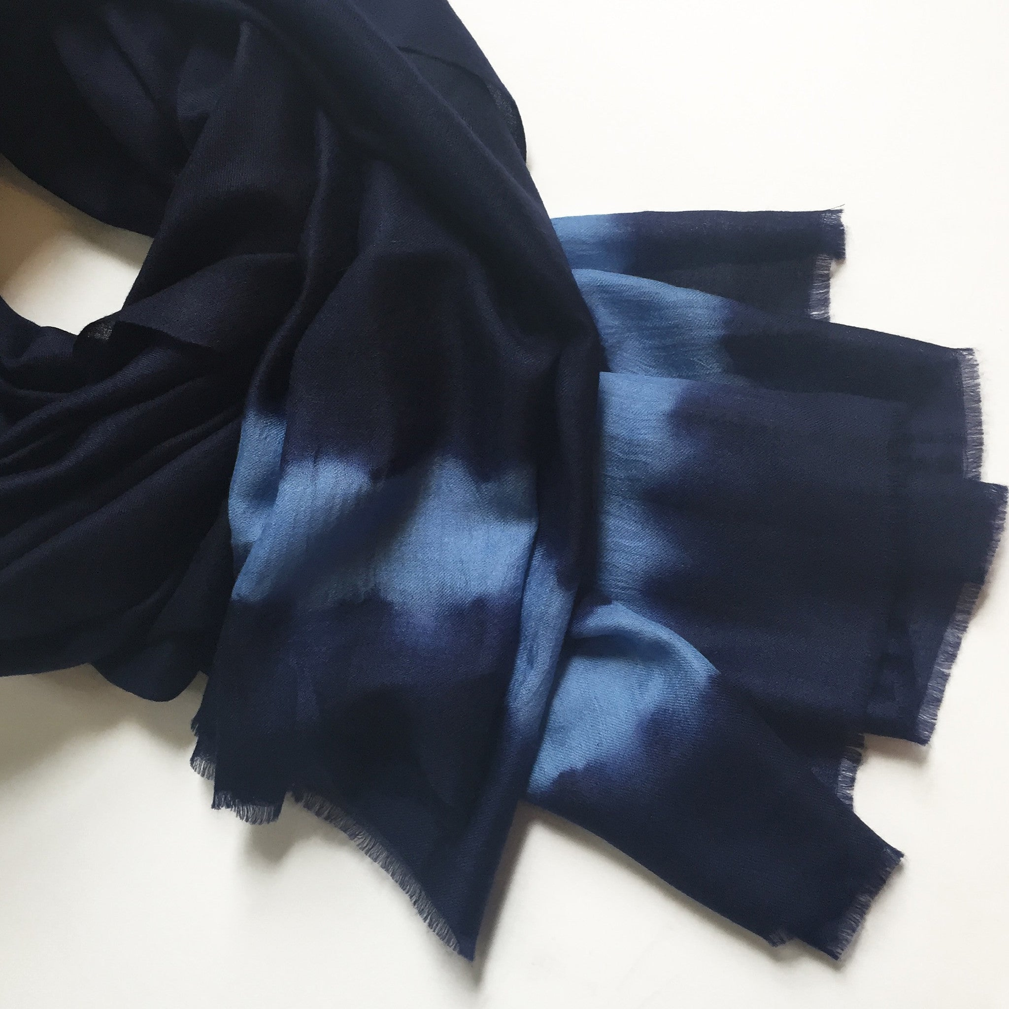 KOSI Flat Scarf - Midnight Stripe