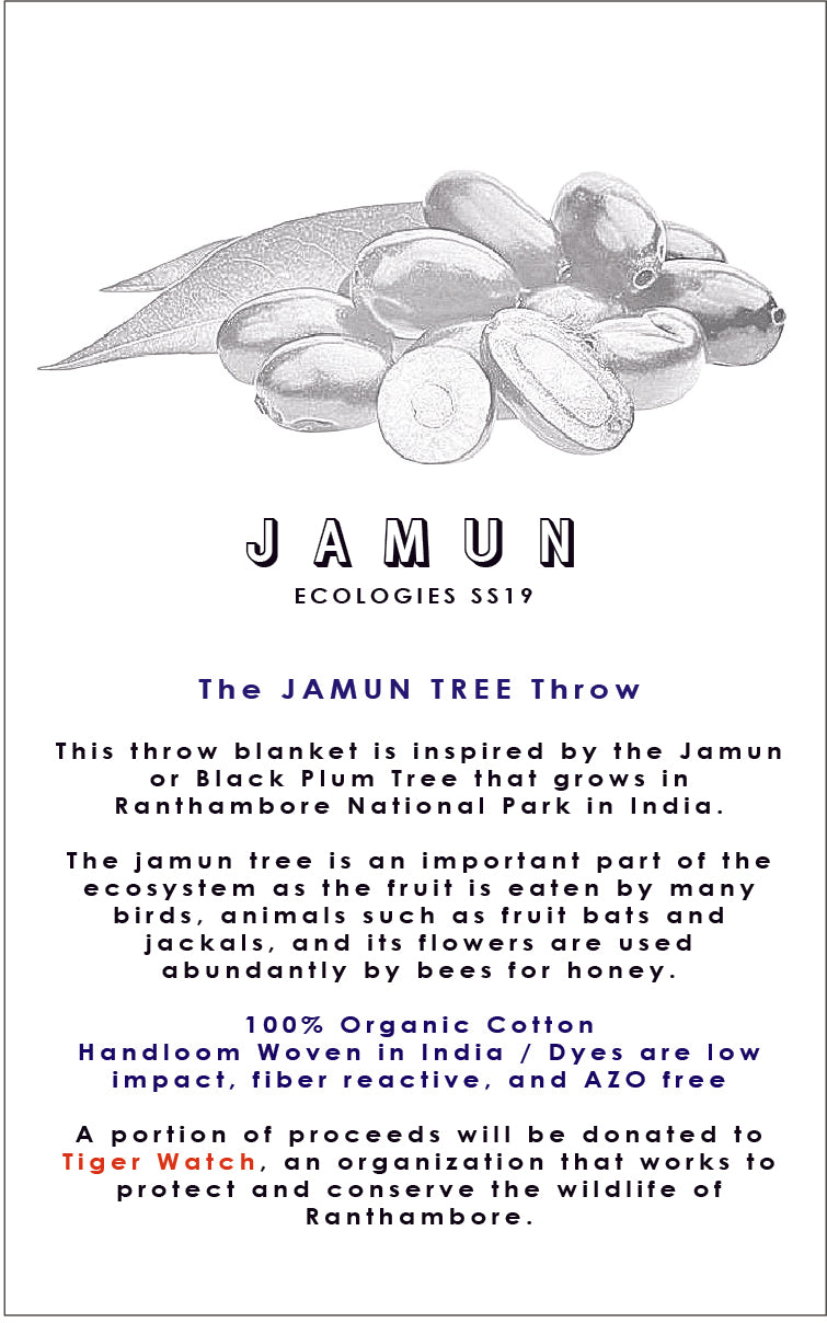 JAMUN TREE Throw
