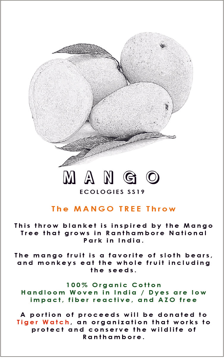 MANGO TREE Throw