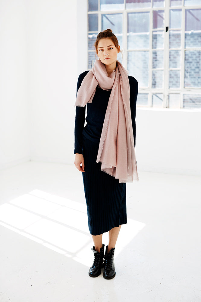 KOSI Scarf - Sable Blush
