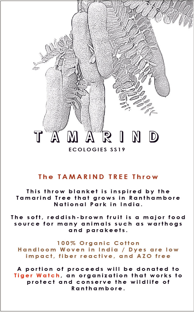 TAMARIND TREE Throw