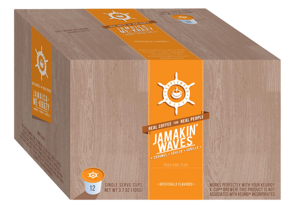 Candlewood Coffee_ - _Single Serve Cups Jamakin' Waves Flavored 12CT