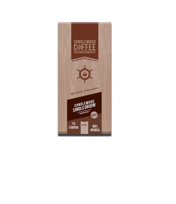 Candlewood_Fair Trade Organic_Ethiopian_Ground_Coffee_Bag