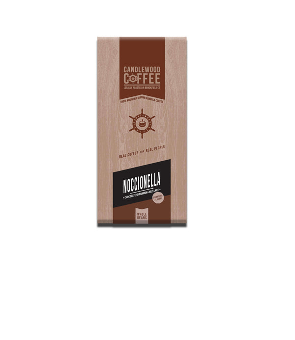 Candlewood Coffee Noccionella Chocolate Cinnamon Hazelnut Whole Bean Bag