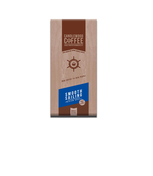 Candlewood Coffee Smooth Sailing Whole Bean Coffee Bag