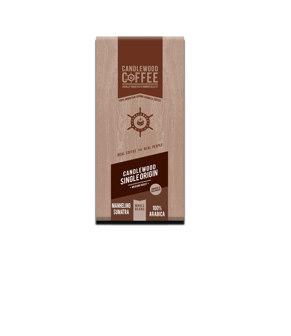 Candlewood Coffee Sumatra Whole Bean Bag