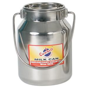Milk Billy Stainless Cowbell 2L w Lid 212156 - Redfarm Supplies - Shoof - Strzelecki Trading