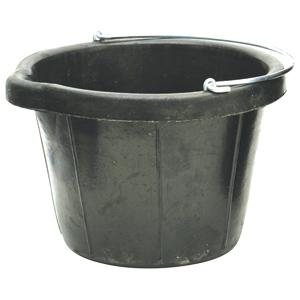 Bucket Recycled Rubber 10L 212187 - Redfarm Supplies - Shoof - Strzelecki Trading