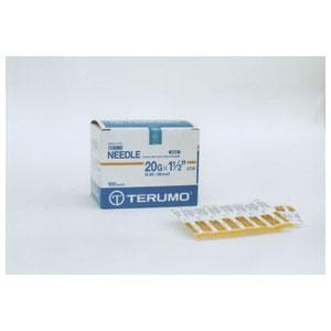 Needles Disp Terumo 20g x 11/2in 100p AU 213108 - Redfarm Supplies - Shoof - Strzelecki Trading
