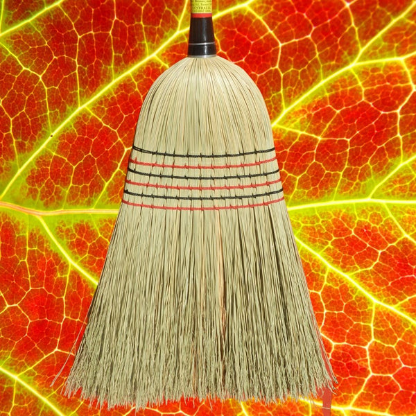Tumut Millet Broom Premium 8-tie Triple Wired 145cm