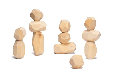 Teniques stacking game - 12 pieces