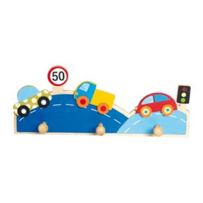 Coat rack cars - 3 pegs