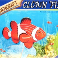 Wooden kit clown fish
