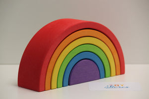 Rainbow red - 6 pieces