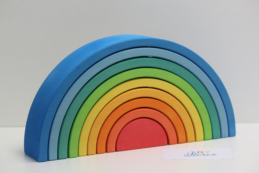 Rainbow blue - 9 pieces