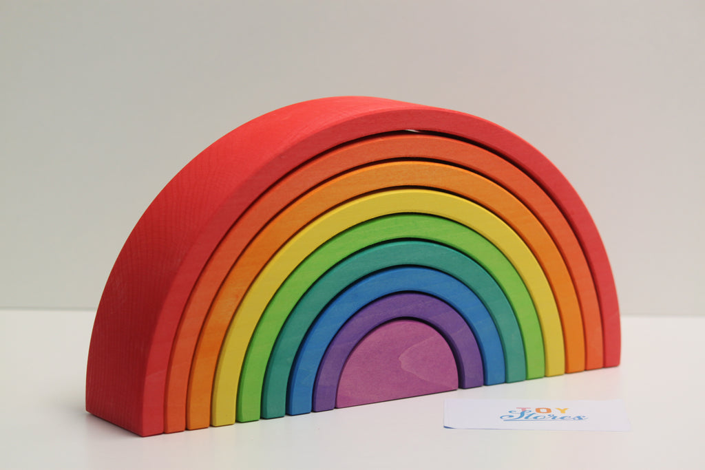 Rainbow red - 9 pieces