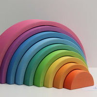 Rainbow pink - 9 pieces