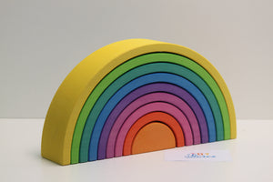Rainbow yellow - 9 pieces