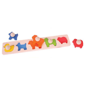 Lift Out Puzzle Animals
