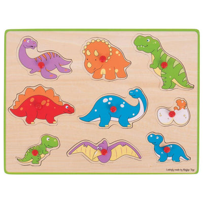 Lift Out Puzzle Dinosaurs