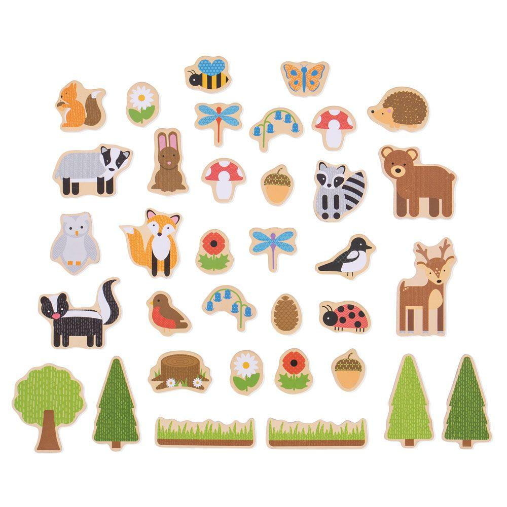 Woodland magnets