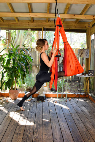 yoga hammock swing