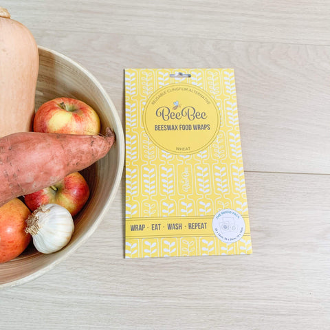 Beebee Wraps The Mixed Pack Beeswax Wheat Theecologik eco products